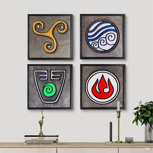 WoodColor - Elemental Series(4 pieces)