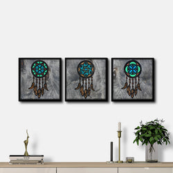 WoodColor - Colorful Mandala Series(3 pieces)