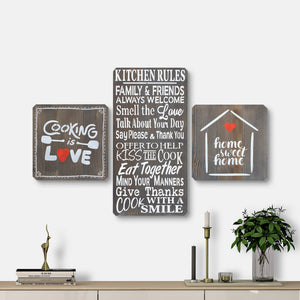 WoodMotto- Kitchen Series (3 pieces)