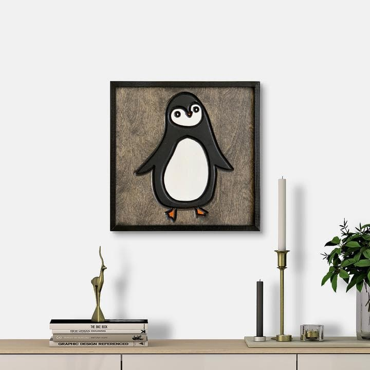 WoodColor - Penguin Mumble