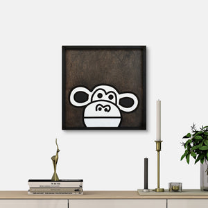 WoodColor - Cute Monkey