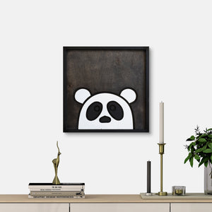 WoodColor - Cute Panda III