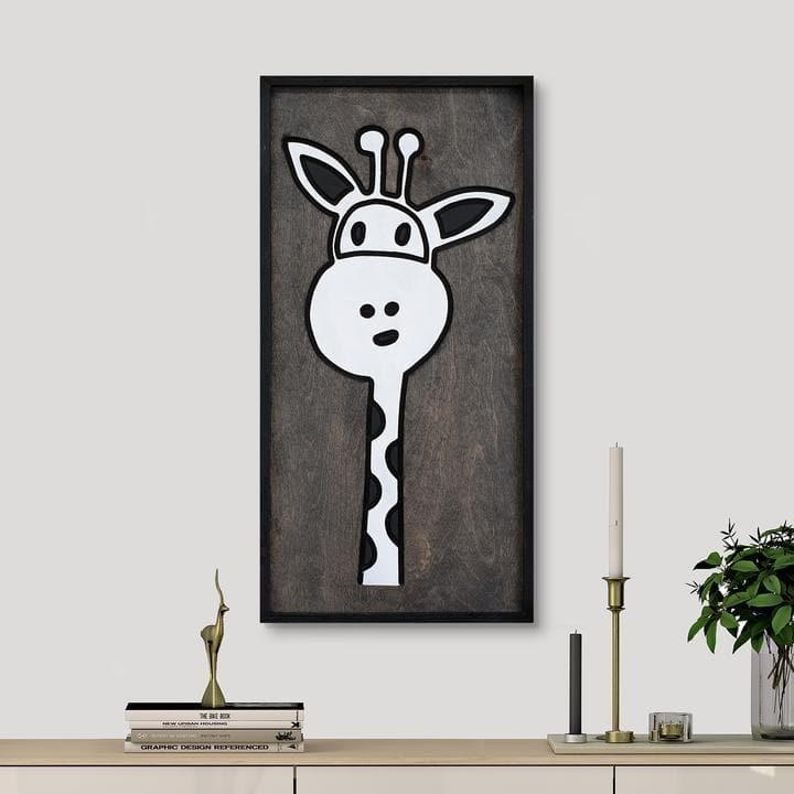 WoodColor - Cute Giraffe