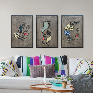 WoodArt - Story of Flora (3 pieces)
