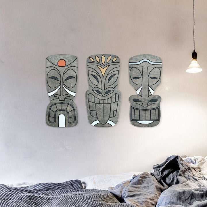 WoodArt -  Hawaiian Tiki Gods