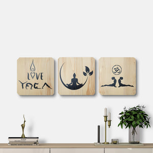 WoodColor - Yoga Series (3 pieces)