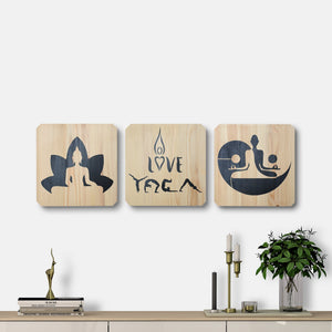WoodColor - Yoga Series II (3 pieces)