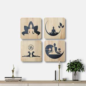 WoodColor - Yoga Series (4 pieces)