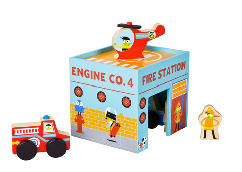 PBS Kids: Emergency Vehicles Play Set