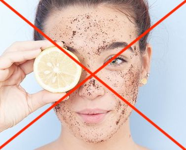 DIY Skin Care: A Recipe for Disaster