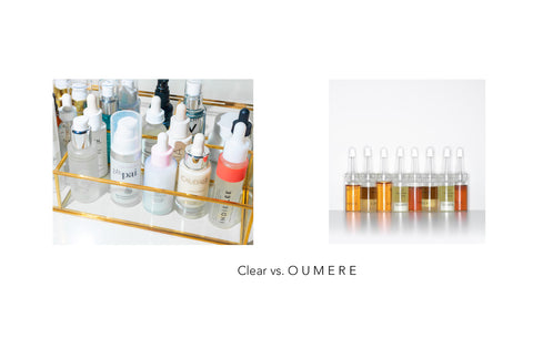 clear vs. oumere