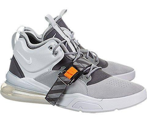 differently 3be5f fa92b Mens Force Basketball Shoe - Air Force 270 Wolf Grey