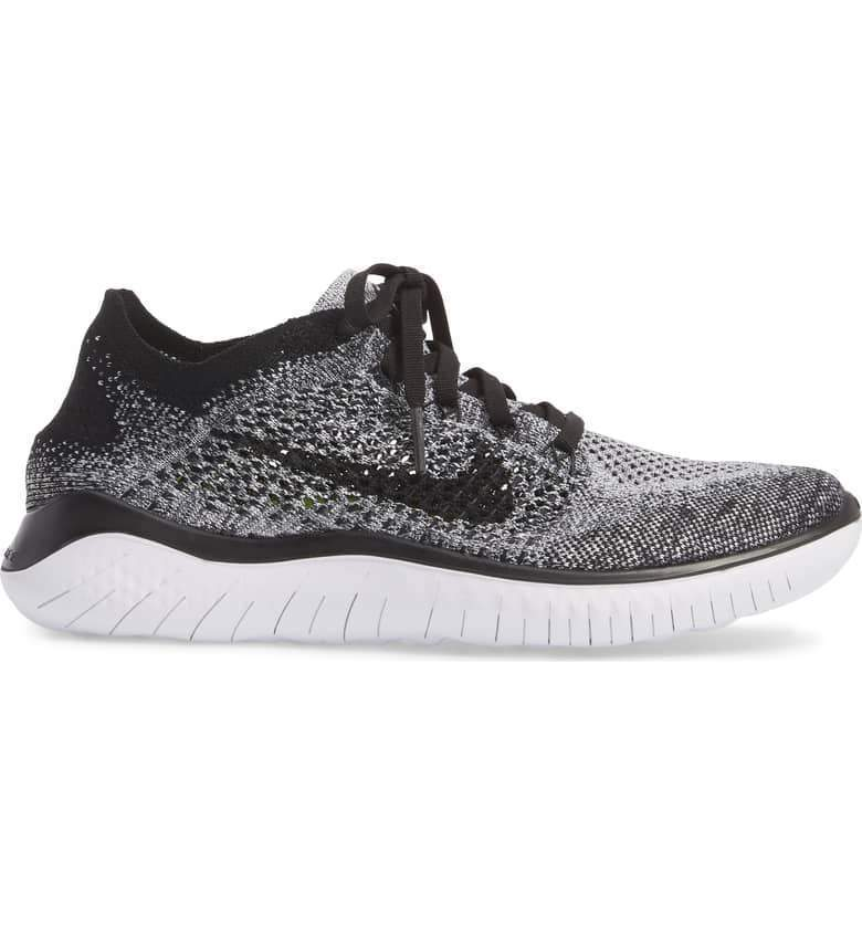 best service e9b7f f70b0 Free RN Flyknit 2018 Men s Shoes 942838-101 White Black