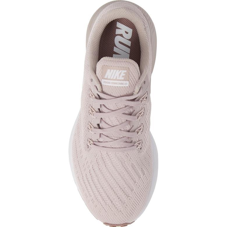 Excellent Nike Air Zoom Structure 22 Particle RoseSmokey MauveWhitePale Pink AA1640 600 Women's Running Shoes Sneakers AA1640 600