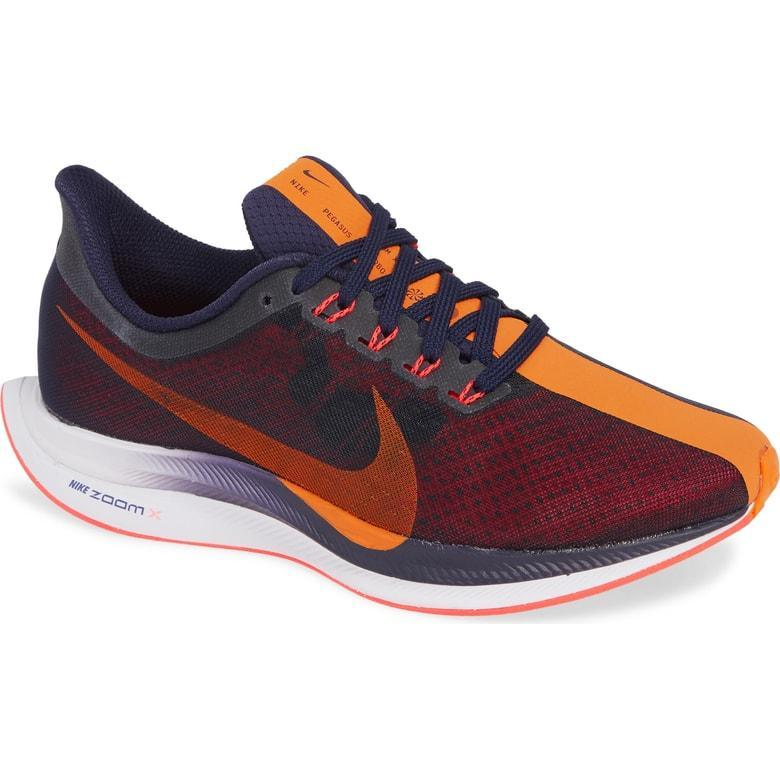 639b847164dd1 Nike Air Zoom Pegasus 35 Turbo - Womens Running Shoes Orange Peel AJ4114-486