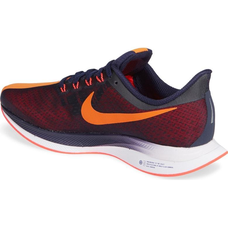 25524d1342d16 Nike Air Zoom Pegasus 35 Turbo - Womens Running Shoes Orange Peel AJ4114-486