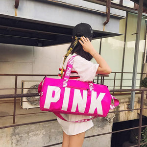 e4f7b6d28c JXSLTC pink girl travel duffel bag women Travel Business Handbags Victoria  beach shoulder bag large secret