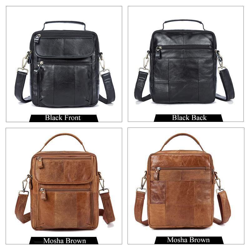 c1935f5760cf MVA Genuine Leather Mens Bags Male Crossbody Bags Small Flap Casual  Messenger Bag Men's Shoulder Bag genuine leather Skin 8870