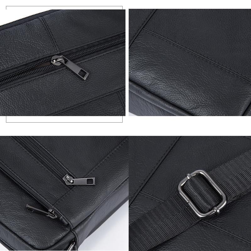 WESTAL Genuine Leather Men s Bags Crossbody Bags Flap Male Messenger Bag  Men Leather Small Ipad Holder 22b57fdab2aa1