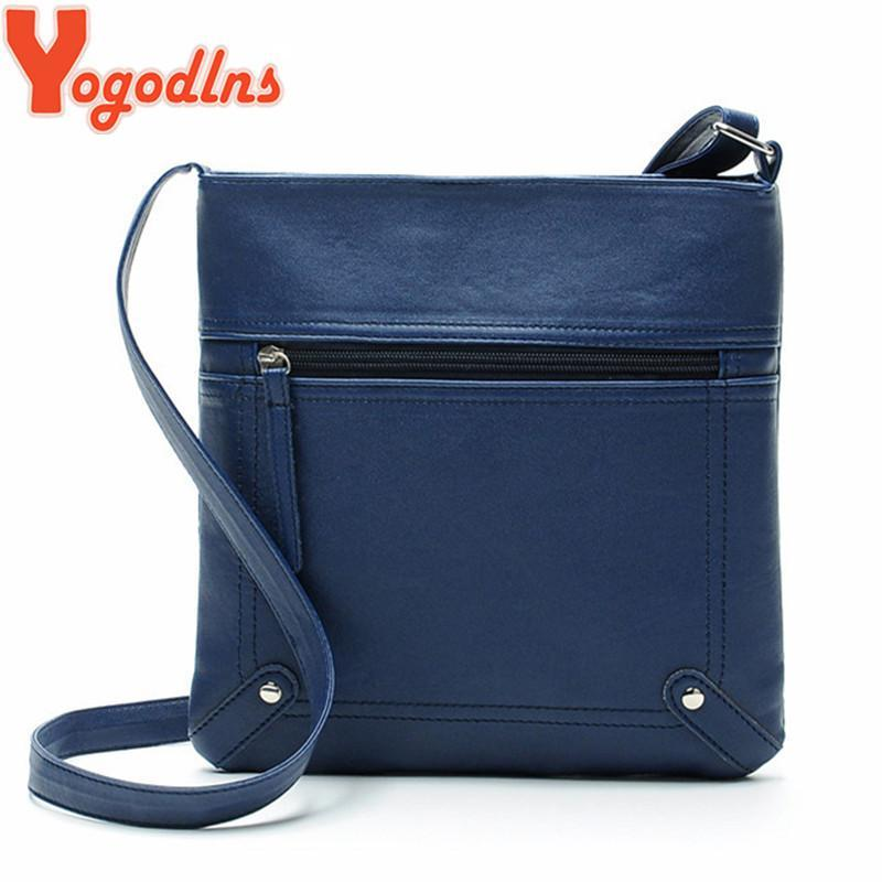 2295586ee54c Yogodlns Designers Women Messenger Bags Females Bucket Bag Leather  Crossbody Shoulder Bag Handbag Satchel