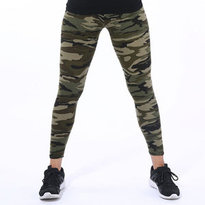 New Fashion 2019 Camouflage Printing Elasticity Leggings
