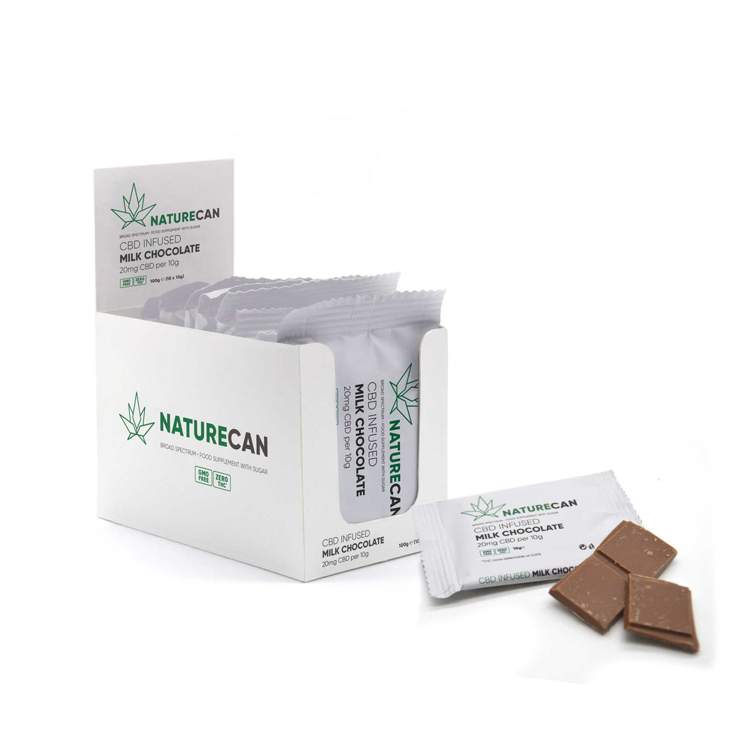 CBD Chocolate - Box of 10