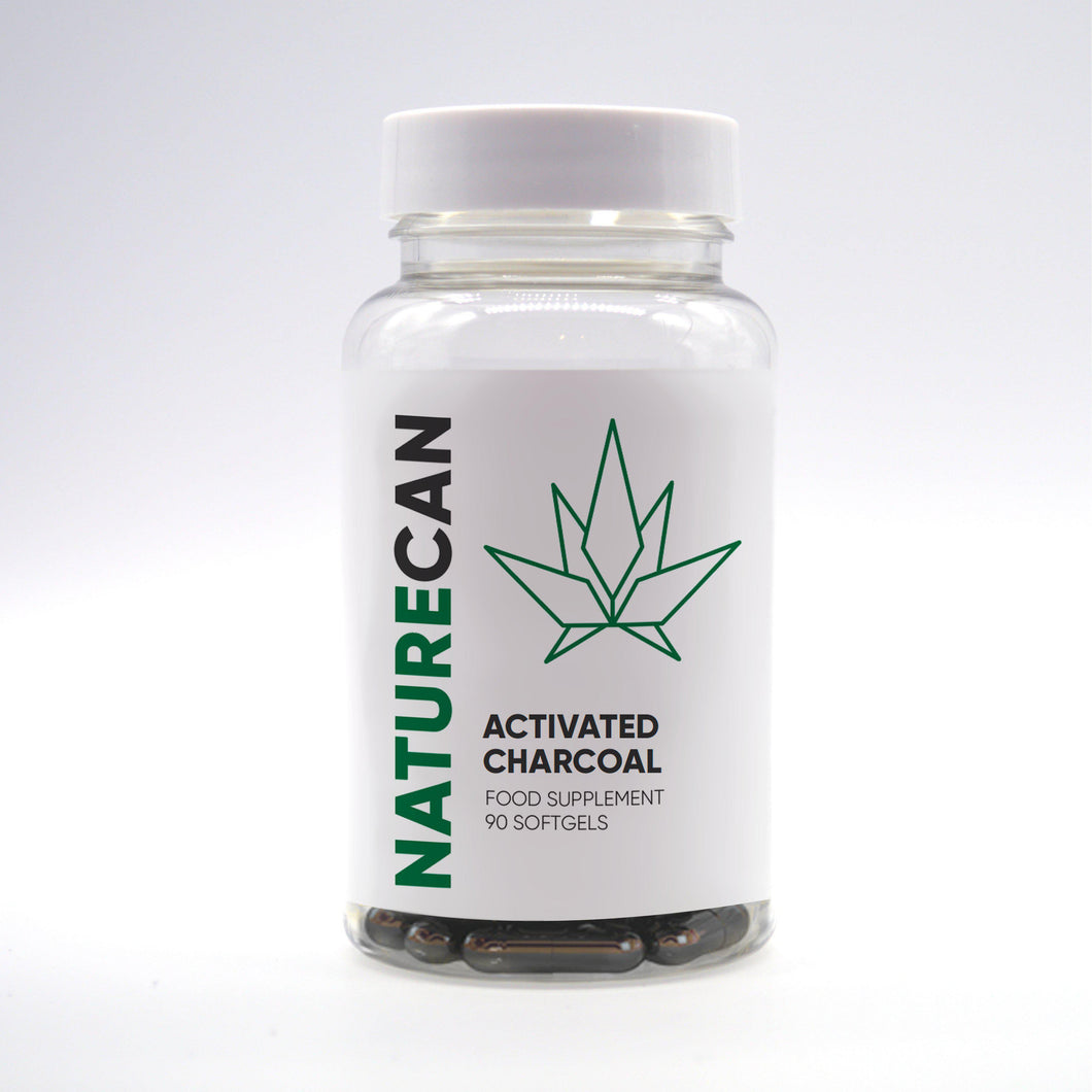Naturecan Activated Charcoal – 90 Capsules