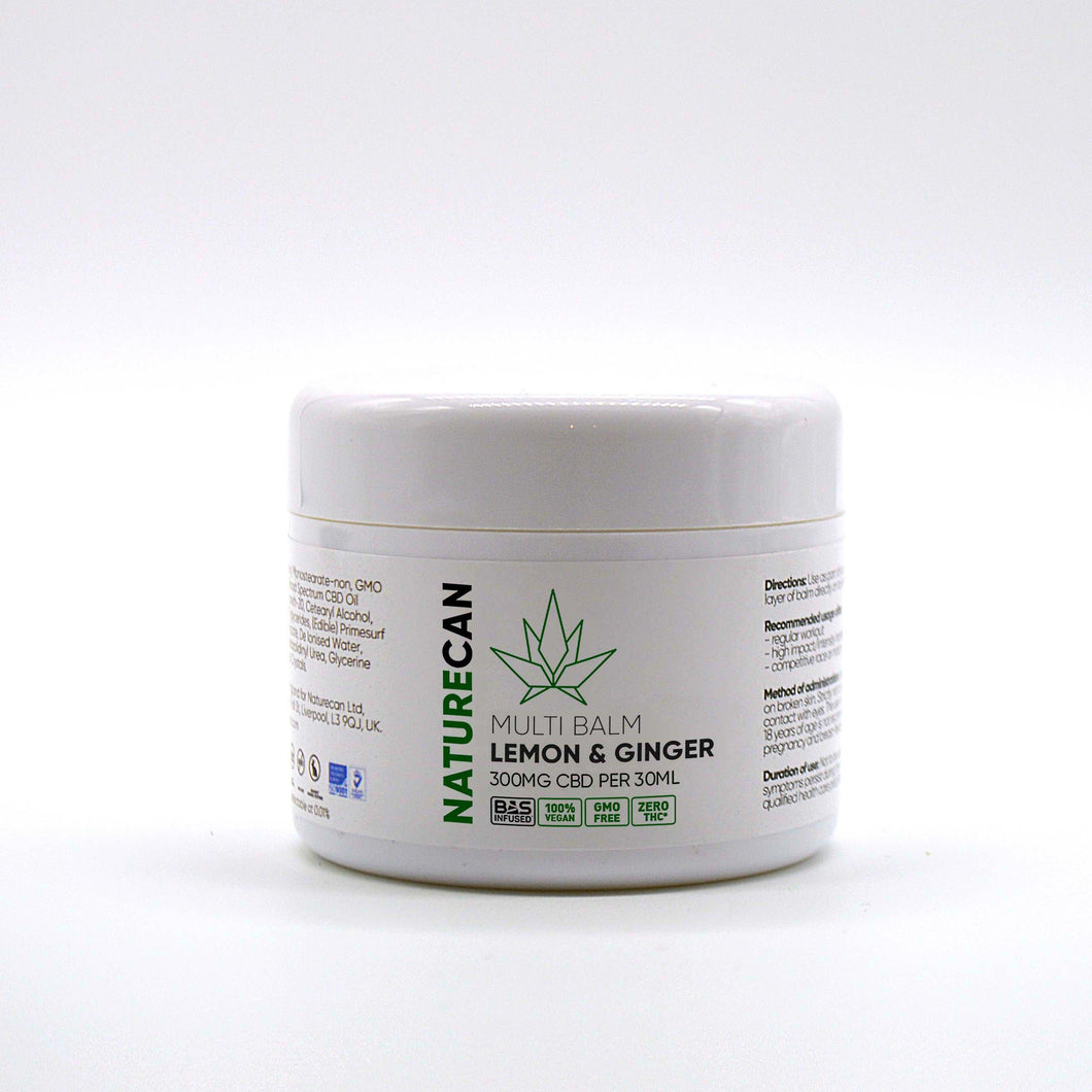 CBD Lemon & Ginger - Multi Balm