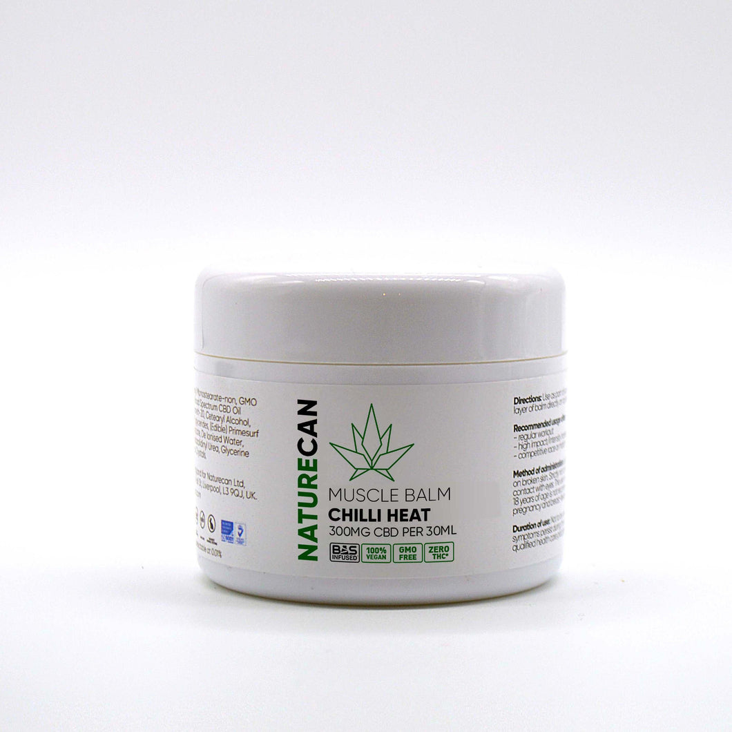 CBD Chilli Heat - Muscle Balm