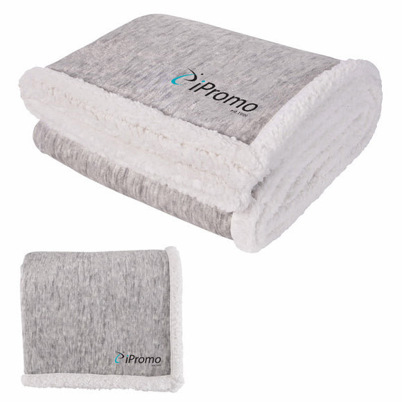 Two Tone Sherpa Blanket