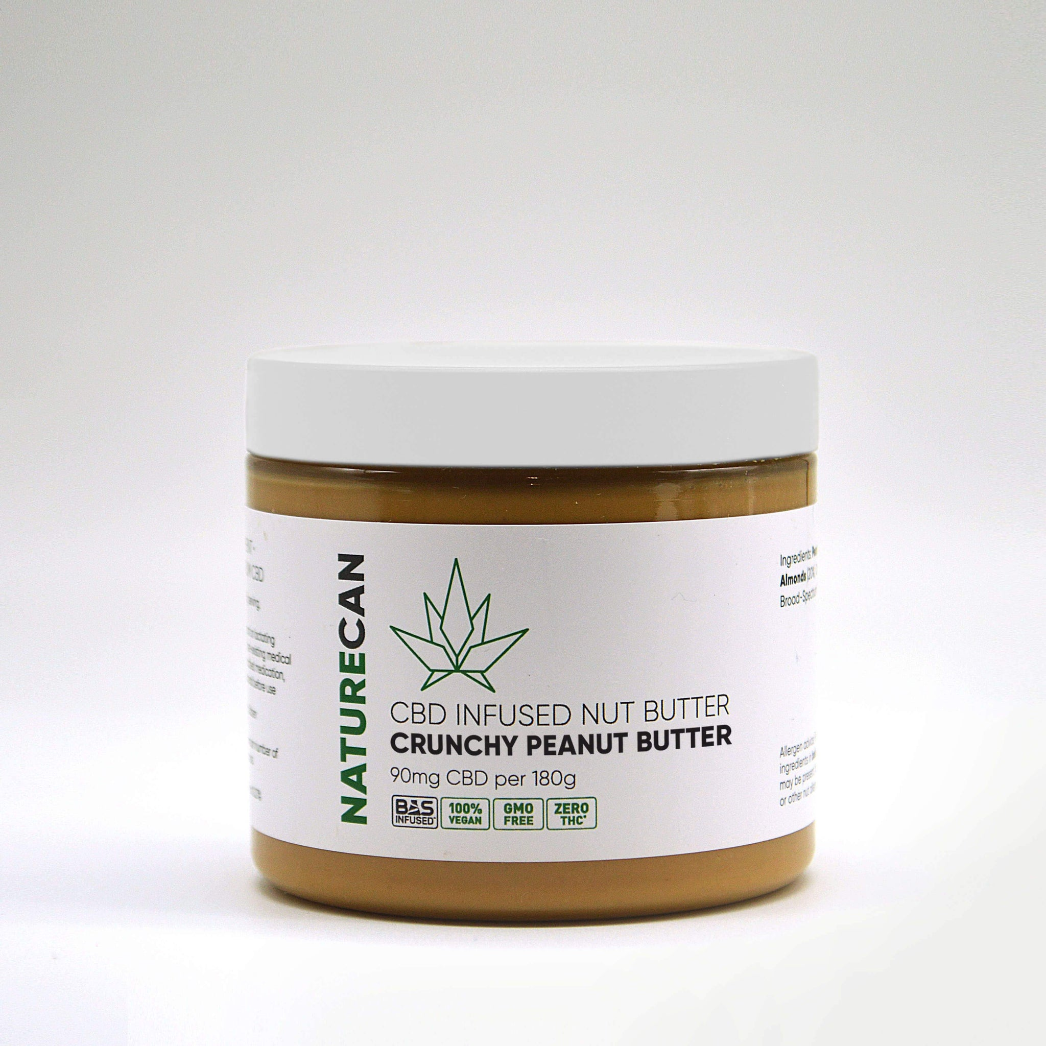 CBD-notenpasta - Knapperig