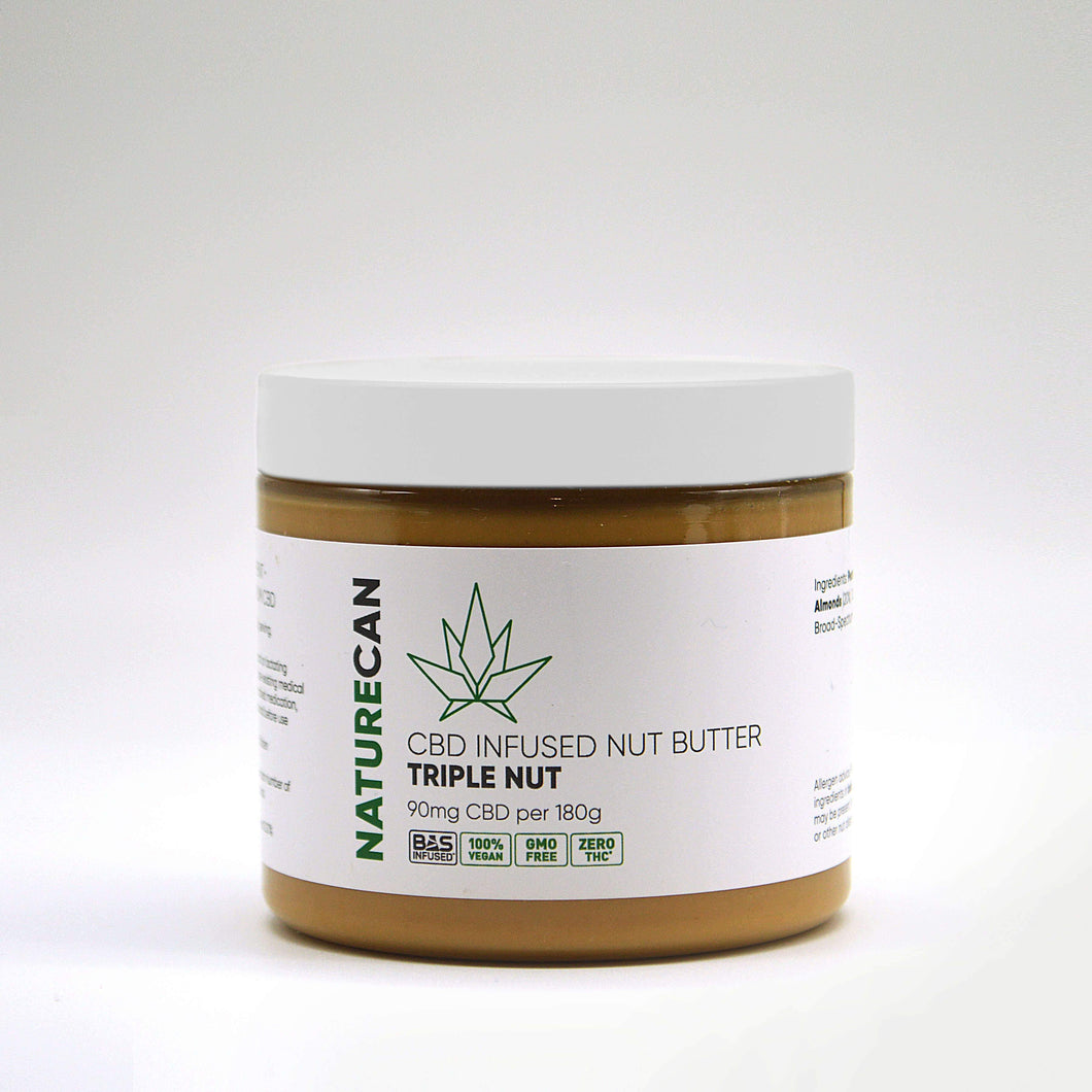 CBD Notenpasta - Triple Nut