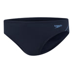 Mens Endurance+ Logo 5cm Brief Speedo Navy/Amazon/Bluebell