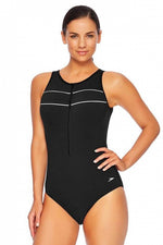 Womens Spirit Turbo Suit One Piece Black/White