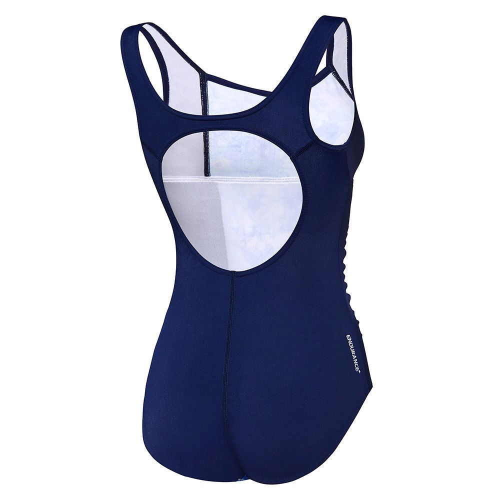 Womens Contour Motion One Piece Margaret/Mystic Blue