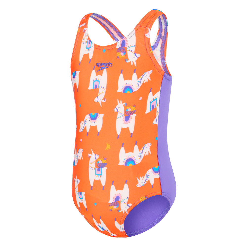 Toddler Girls Medalist One Piece Fruity Llama
