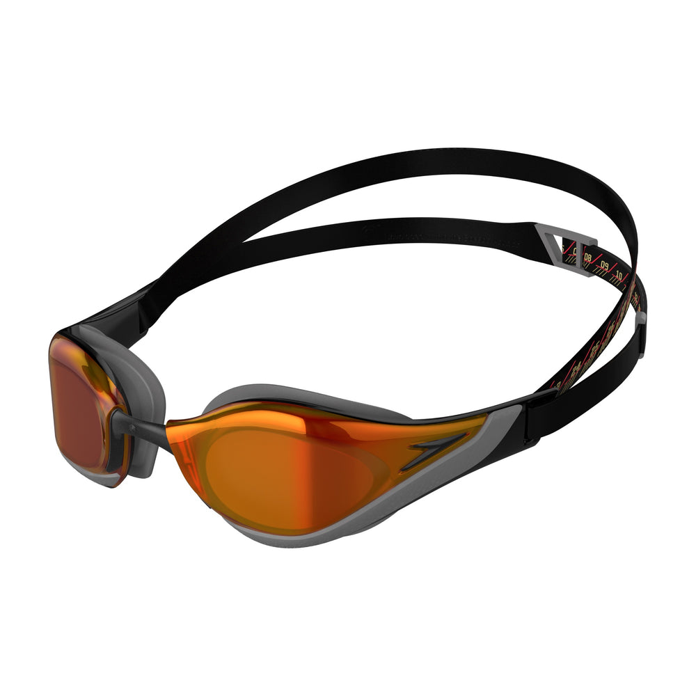 Fastskin Pure Focus Mirror Goggles Black/Fire Gold/Cool Grey