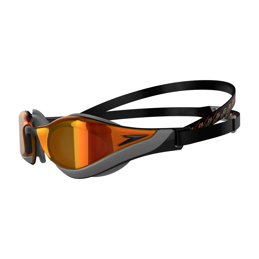 Fastskin Pure Focus Mirror Goggle Black/Fire Gold/Cool Grey