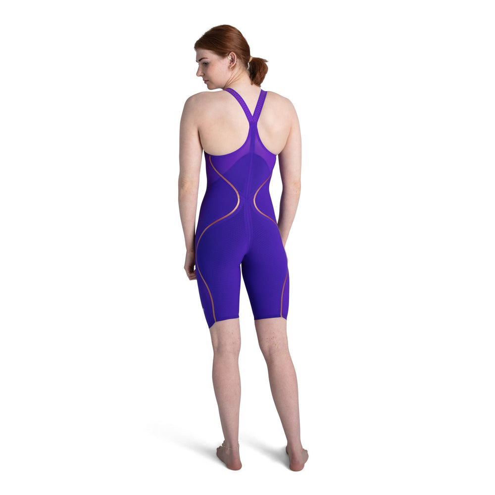 Fastskin LZR Racer Pure Intent Closedback Kneeskin Violet/Yellow/Black