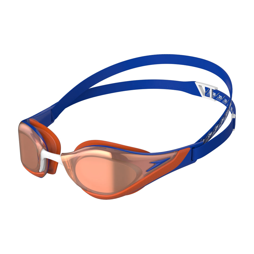 Fastskin Pure Focus Mirror Goggles Blue Flame/Dragon Fire/Rose Gold