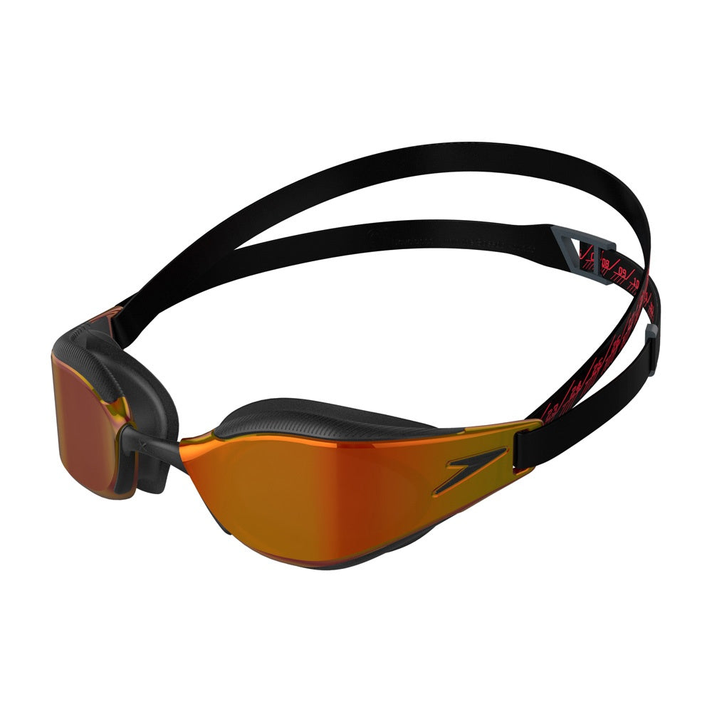 Fastskin Hyper Elite Mirror Goggles Black/ Oxide Grey/ Fire Gold