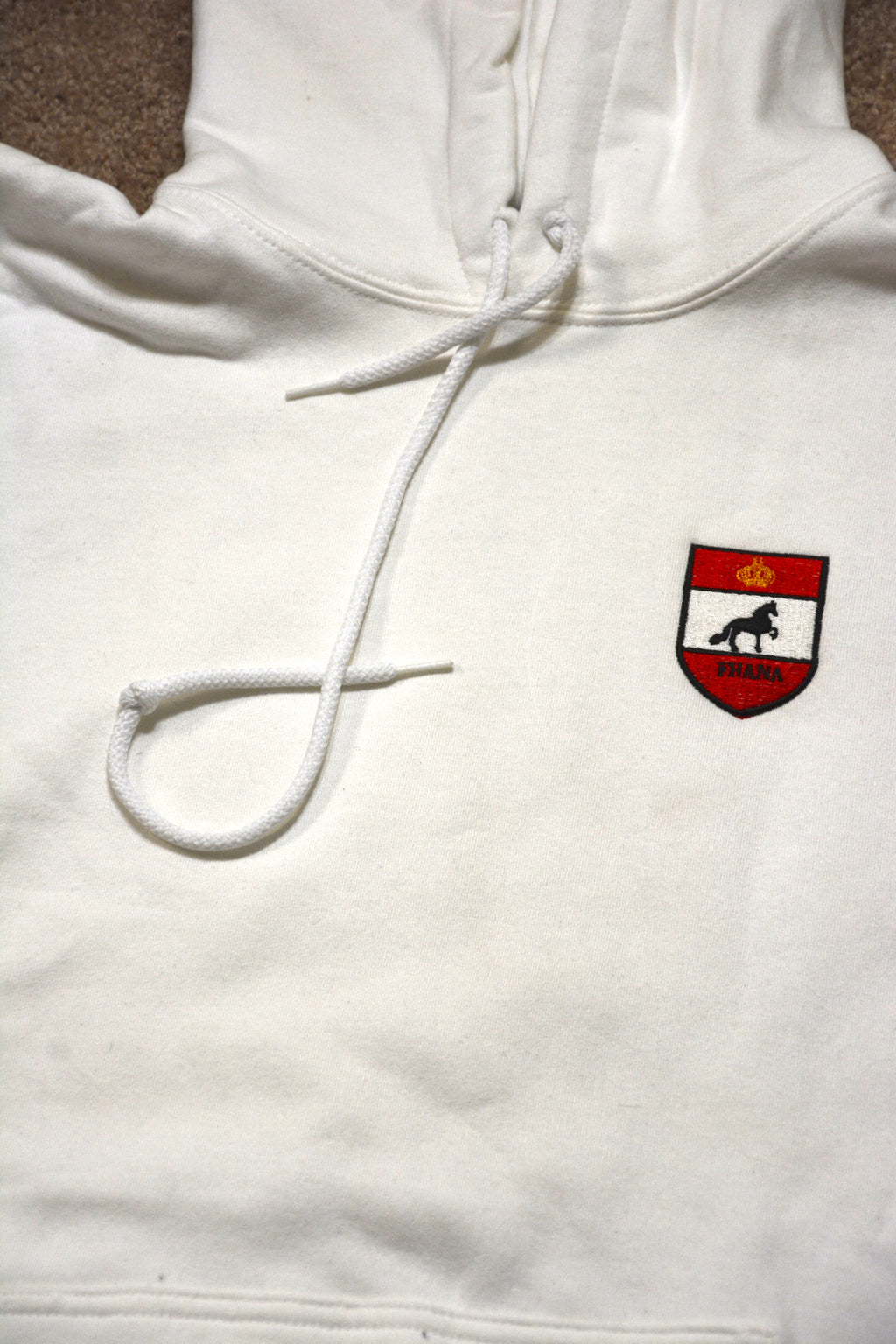Hooded Sweatshirt with Classic FHANA Logo