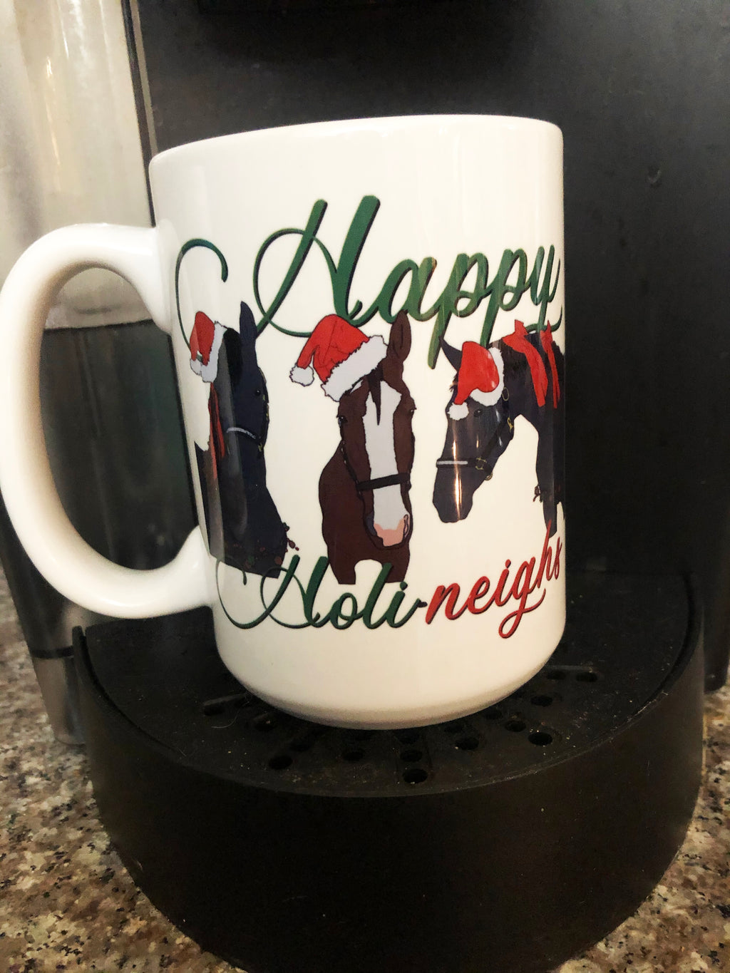 Happy Holi-neighs Coffee Mug