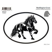 Friesian Decal Sticker