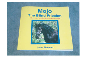 Mojo The Blind Friesian