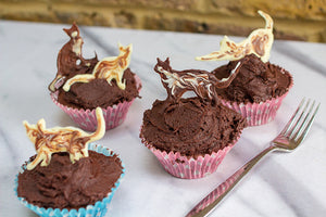 Cute Cat Cupcakes - Hummingbird Bakery Recipe