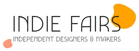 Indie Fairs Logo. Come and buy from Catnap Design London in person in Herne Hill.