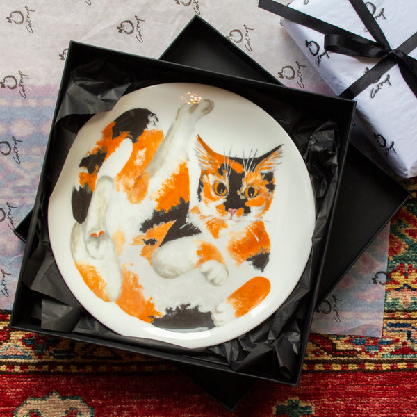 Oscar Cat Side Plate