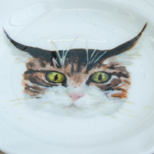 Casper Cat Trinket tray (edged) - Cat lover gift