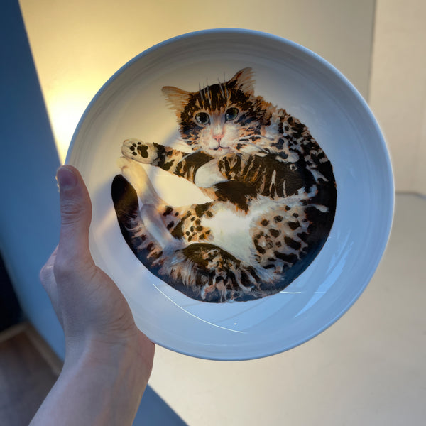 Theo Cat Pasta Bowl